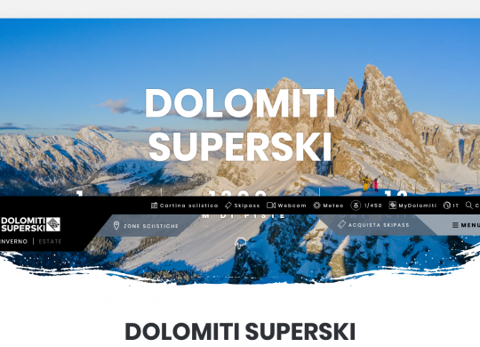 Dolomiti Superski 2020 2021